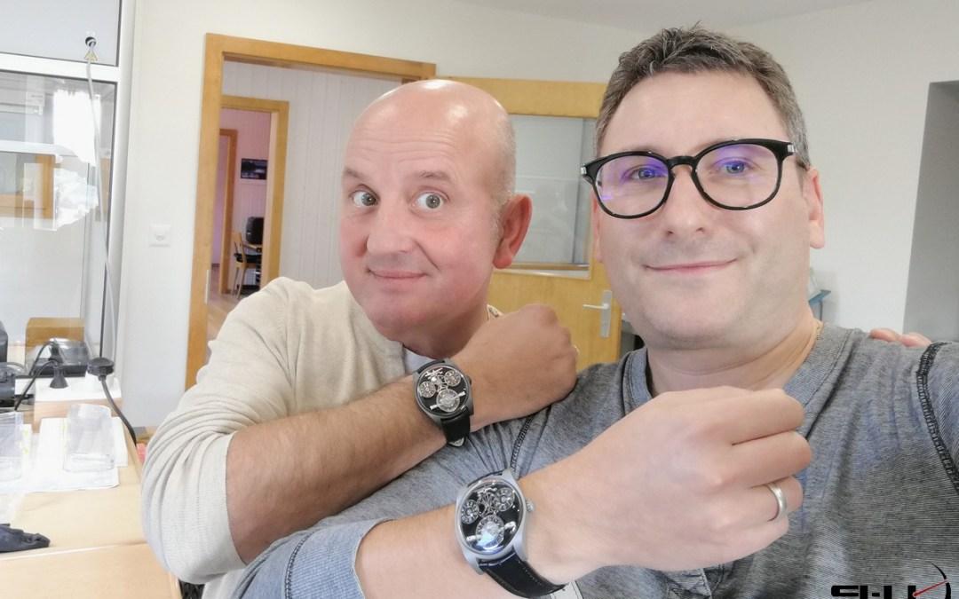 Rencontre avec Emmanuel Bouchet / Emmanuel Bouchet Timepieces