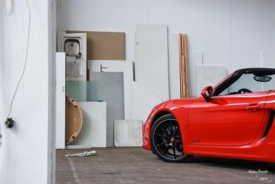 Shooting Porsche 981 Boxster GTS-11