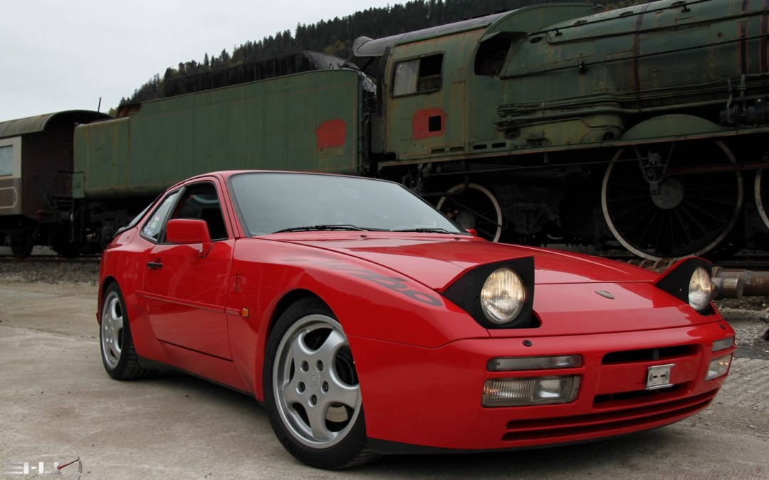 Essai Porsche 944 Turbo 1990