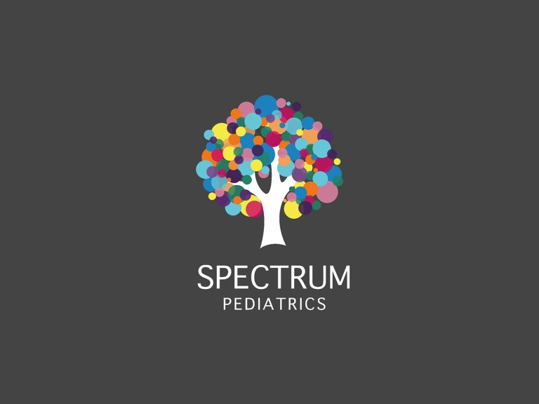 Brand Identity work for Spectrum pediatrics