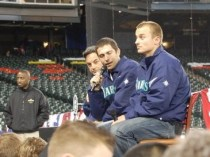 Kyle Seager and Dustin Ackley at Mariners Fan Fest