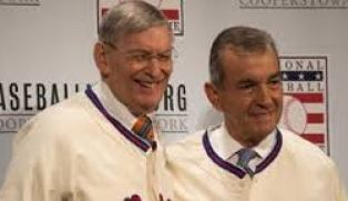Newest Hall of Fame members, John Schuerholz and Bug Selig
