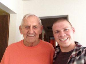 Me with Bob Borkowski