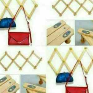 wooden hanger organizer at cheapest price on 9jabay