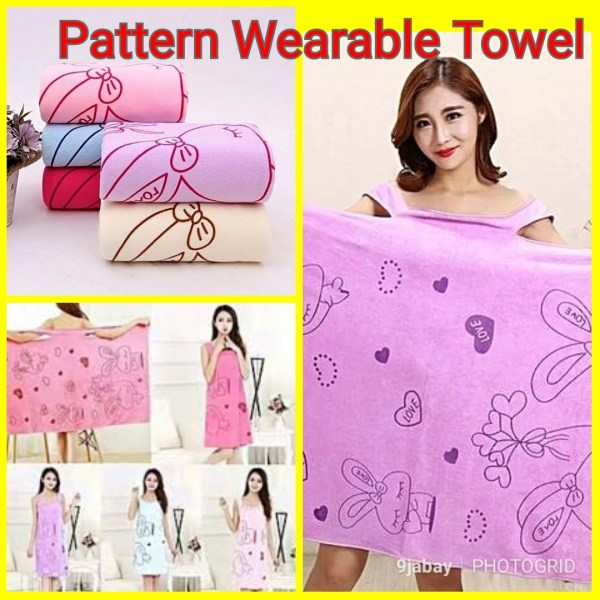 where can i buy wearable pattern towel at wholesales in nigeria