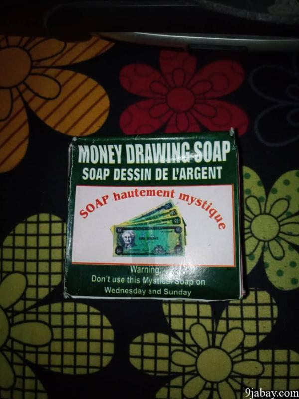 money drawing soap nigeria