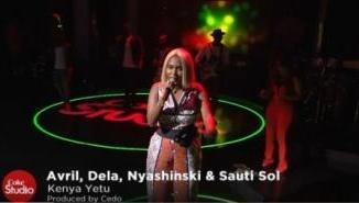 AUDIO | VIDEO: Avril, Deela, Nyashinski X Sauti Sol - Kenya Yetu