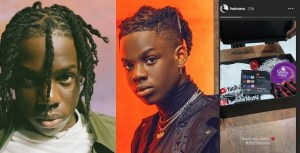 "Rema gets reward from YouTube as ""Beamer"" hits 10 million streams"