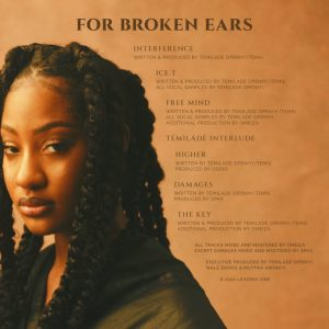 DOWNLOAD MP3: Tems – For Broken Ears EP