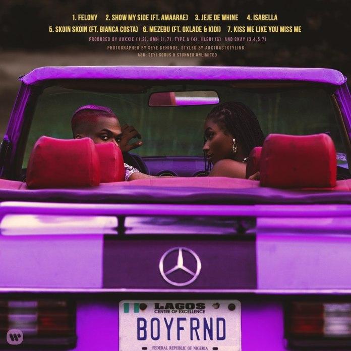 Ckay – Boyfriend EP tracklist