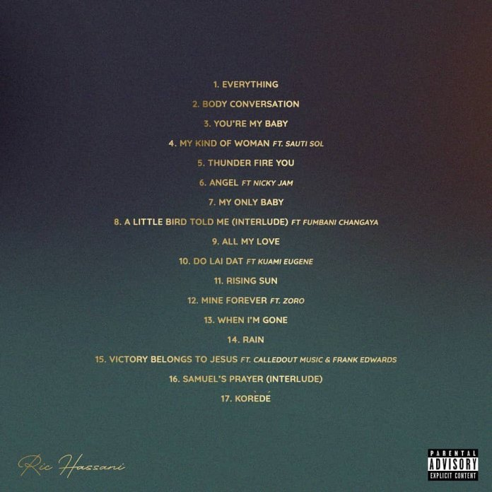 'The Prince I Became' album tracklist