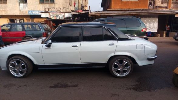 Man-Redesigns-An-Abandoned-Peugeot-504-In-Enugu5-1 Tech News Uncategorized  See What An Auto Designer Did With An Abandoned Peugeot 504 In Enugu (Photos)