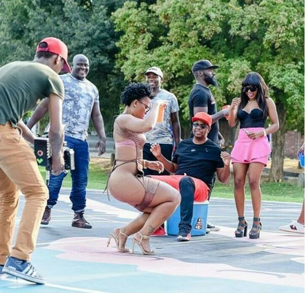 Zodwa Wabantu Show Off More Ass In Oskido Serope Video