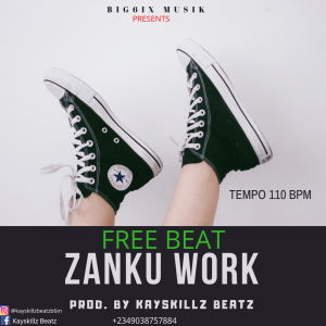 Download Freebeat:- Modern Zanku Beat (Prod By Kayskillz Beatz