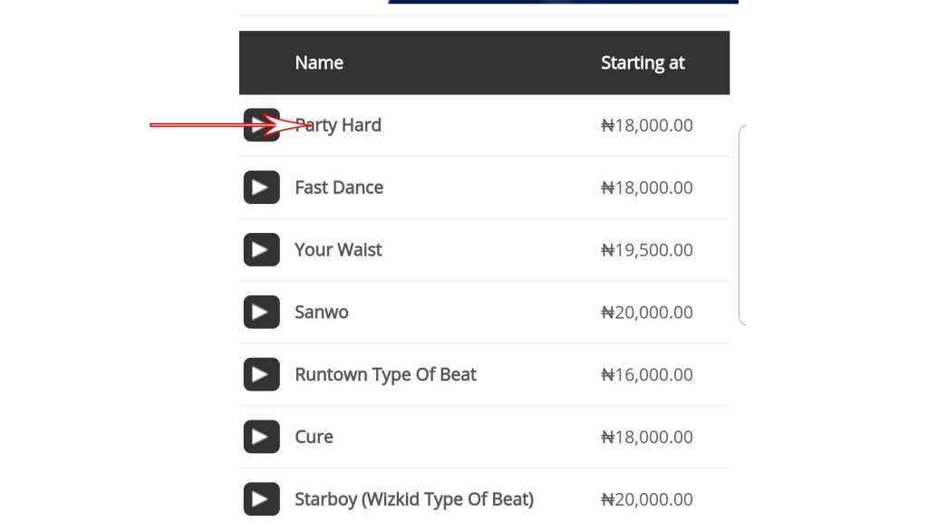 How To Purchase Beat(s) From 9jaflaver Beat Store