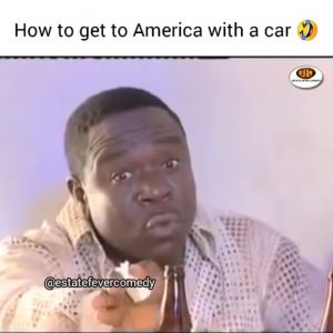 Download Comedy Video:- Mr Ibu – How To Get To America With A Car