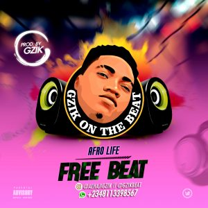 Download Freebeat:- Deeper Life (Prod By Gzik)