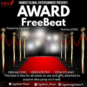 Ugobest Music Presents Award Free Beat For All Artistes To Use