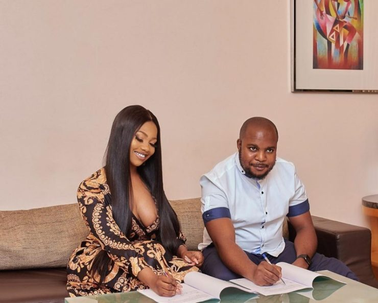 Tacha Becomes Face Of Royal Hair, Signs Ambassadorial Deal 13