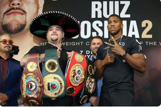 Anthony Joshua Issues Final Warning To Ruiz Ahead Of Rematch 4