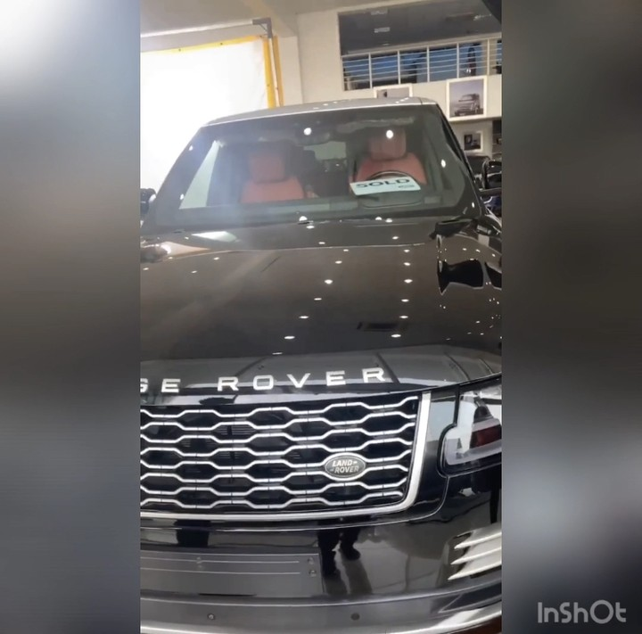 Mercy Eke Buys Range Rover Autobiography