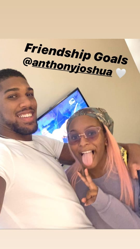 DJ Cuppy And Anthony Joshua Laugh At Each Other As They Try To Speak Yoruba 10