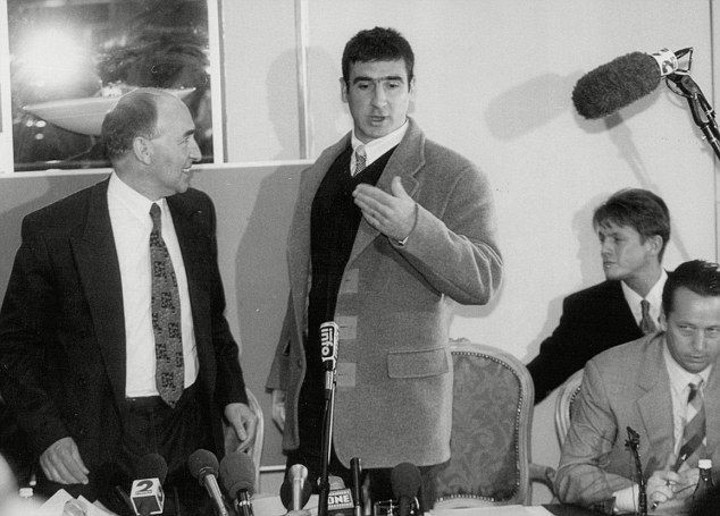 """""""soon the science will not only. Eric 'The King' Cantona kungfu kicked an abusive fan after ..."""