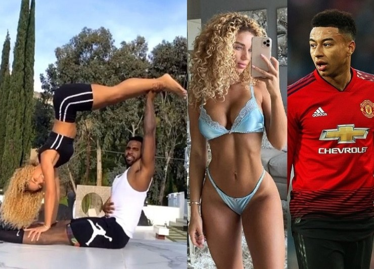 Jason Derulo Reportedly Dating Manchester United Player Jesse Lingard's Ex-Girlfriend, Jena Frumes, With The Two Self-Isolating Together In LA (Photos) 14