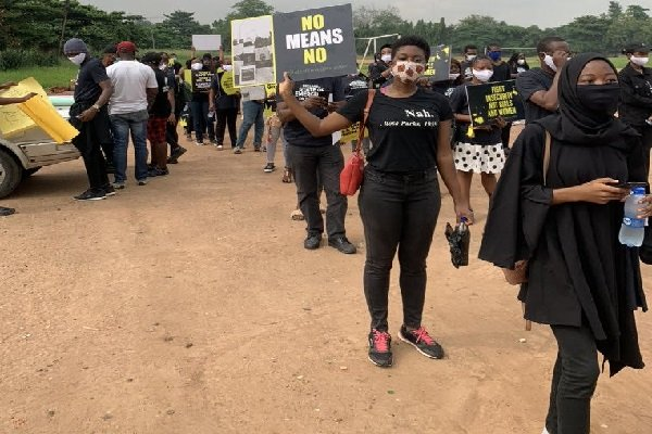 Protests Rock Lagos, Abuja Over Rising R*pe Cases, Sexual Assault Against Women (Photos) 2