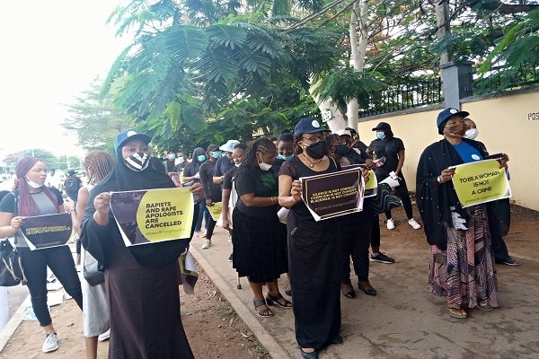 Protests Rock Lagos, Abuja Over Rising R*pe Cases, Sexual Assault Against Women (Photos) 5