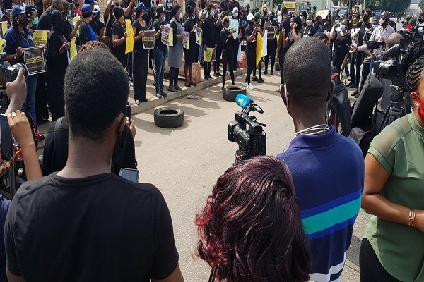 Protests Rock Lagos, Abuja Over Rising R*pe Cases, Sexual Assault Against Women (Photos) 6