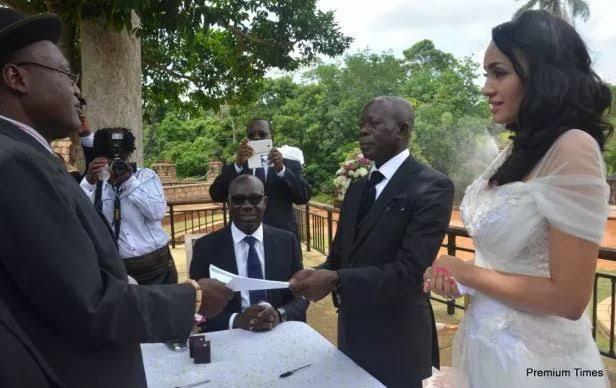 Obaseki Was Oshiomhole's Best Man At His Wedding To Iara (Throwback Photos) 5