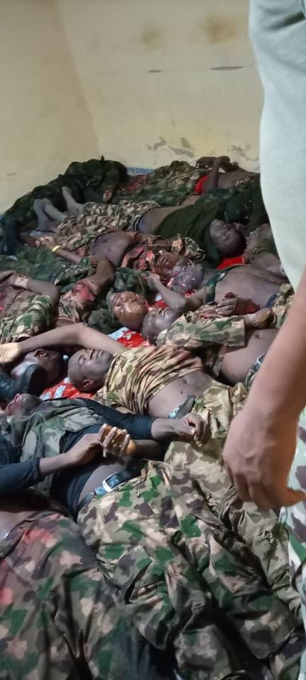 Boko Haram Kills Lots Of Soldiers In Danbua, Borno – (Graphic Photo) 1