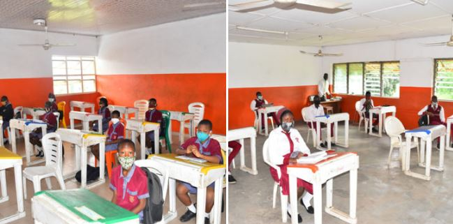 School Reopening: After Four Months, Oyo Schools Finally Reopen (Photos) 3