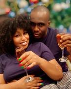 Rita Dominic & Her Fiancé Celebrate Christmas With Loved Up Photos