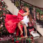 Joseph Yobo, His Wife Adaeze And Children In Christmas Family Pictures