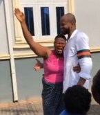 Emotional Moment A Son Surprised His Mother With A Visit After 13 Years In The US (Video)