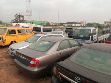 LASG To Auction 88 Impounded Vehicles For Driving Against Traffic