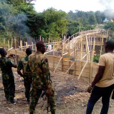 Ogun Uncovers An Unauthorised Flyover Bridge In Omo Forest (Photos)