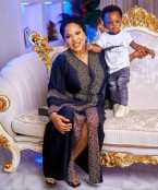 Actress Toyin Abraham And Her Son, Ireoluwa Shine In New Photo
