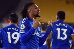 Iwobi Reacts After Scoring Against Wolves To End 37 Matches Goal Drought