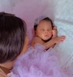 Actress Etinosa Idemudia Shows Off Her Newborn Daughter