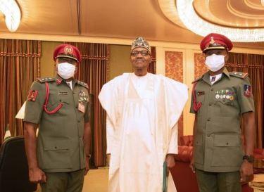 President Buhari's New ADC Resumes Duty At Villa