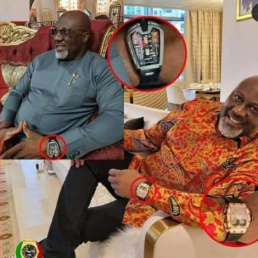 Dino Melaye Exposed for Showing Off Fake Hublot Wristwatch