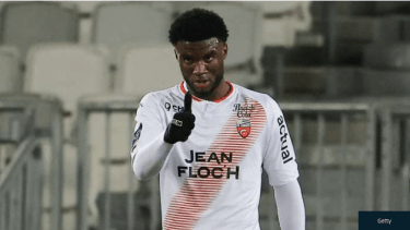 Lorient's Moffi Reveals Biggest Challenge In Ligue 1 Before His 'Best Goal' Against PSG
