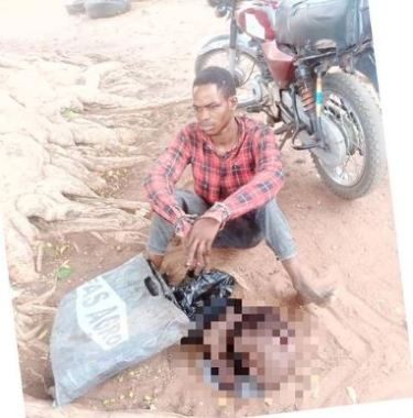 Young Man Caught With Freshly Severed Human Head And Hand Inside A Bag In Kwara (Photo)