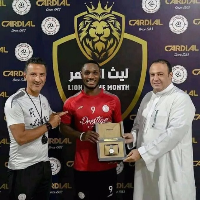 Ighalo Named Al Shabab's Player Of The Month