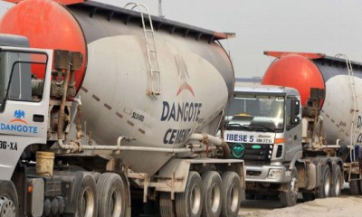 Dangote Cement to end cement supply