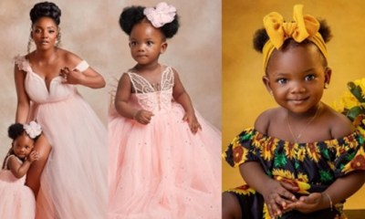 Adekunle Gold and Simi unveil Their Daughter's Face