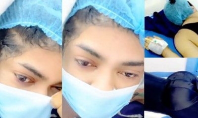 Bobrisky gives update on his surgery